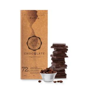 Schokolade Choqlate Kaffee Bio 72 Prozent Kakaoanteil