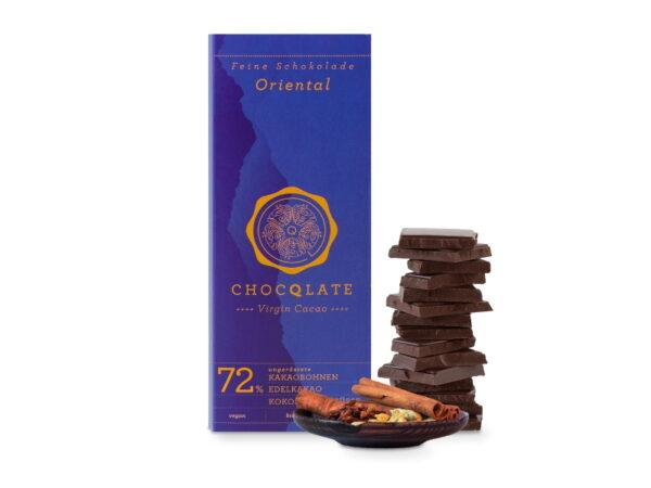 Schokolade Chocqlate Oriental Gewürze